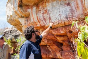 Discover ancient Gwion Gwion Rock Art